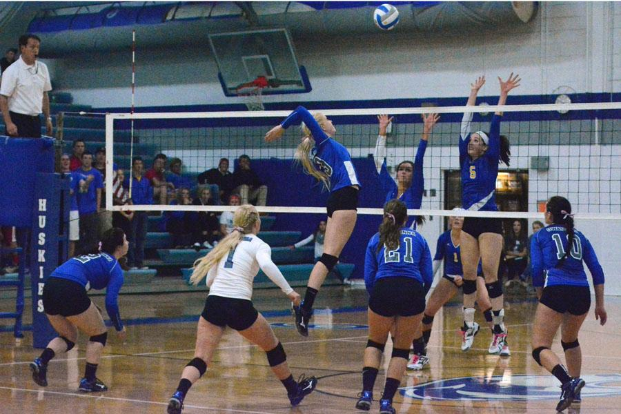 10/24 Section Volleyball Game vs. Hastings