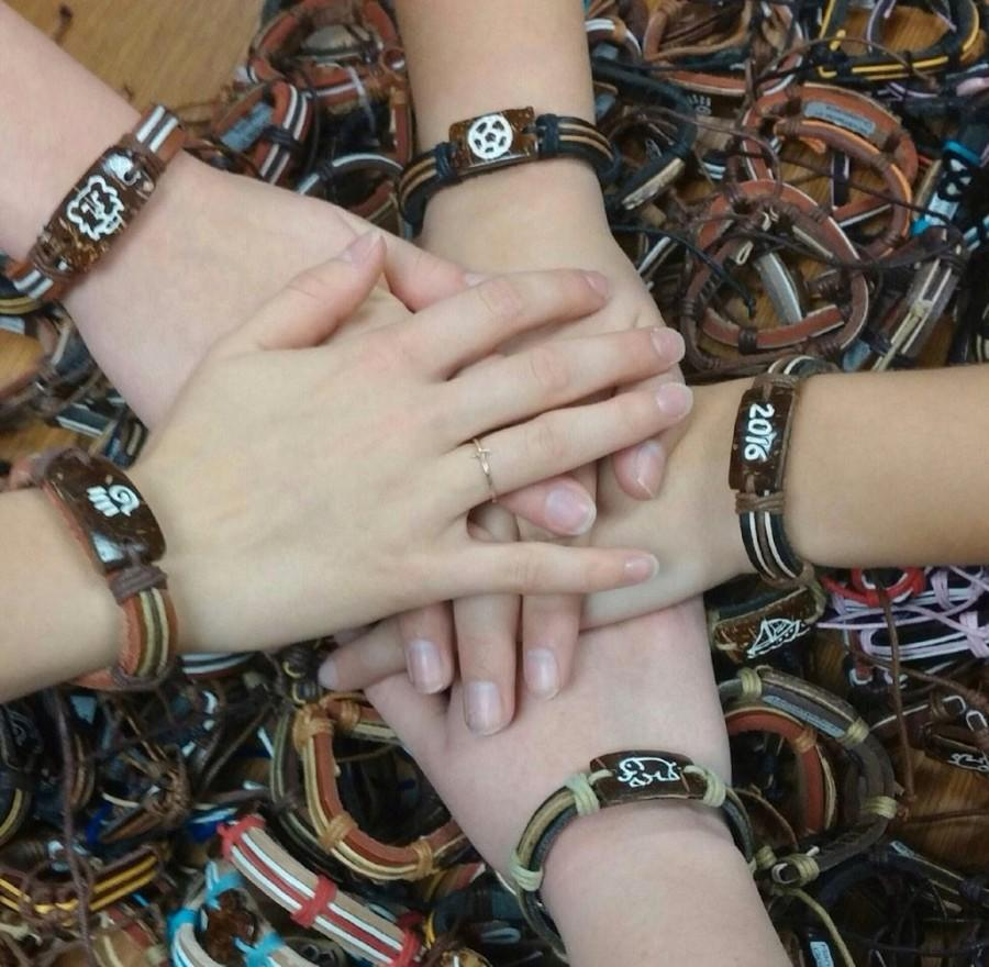 Banding together for charity