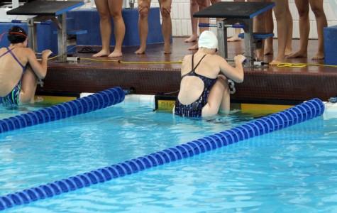Girls Swimming & Diving midseason recap