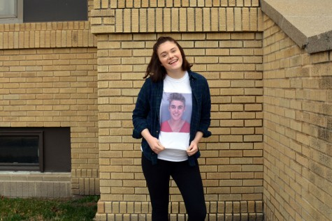 """""""I'd like to thank Justin Beiber for getting me through this final year."""" -Chloe Anderson"""
