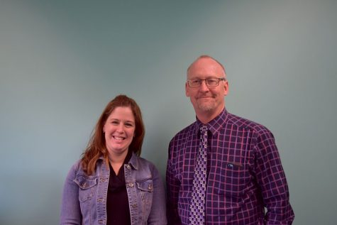 Assistant Principals Nicole Adams and Jeff Miller handle the day-to-day disciplinary issues at OHS
