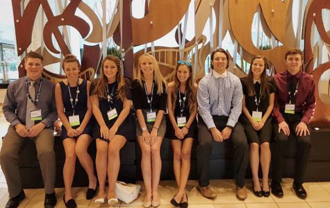 OHS DECA represents at an international conference