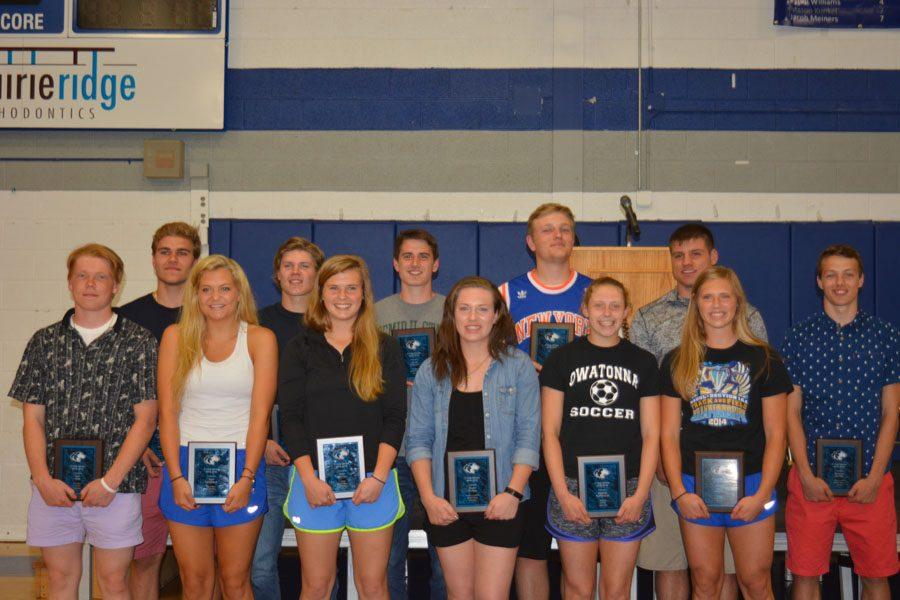 Awarding academics, arts and athletics