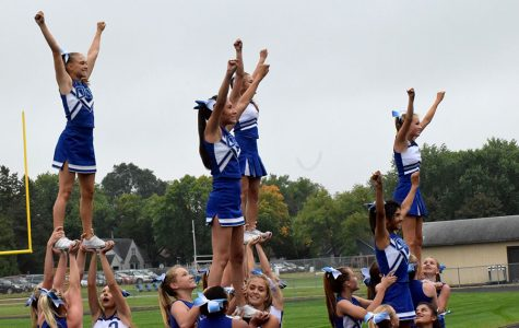 Cheer team is changing