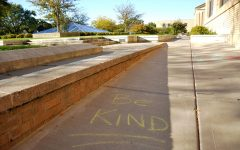 Bringing kindness one chalk at a time