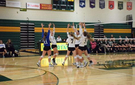 Volleyball floors their way through the regular season