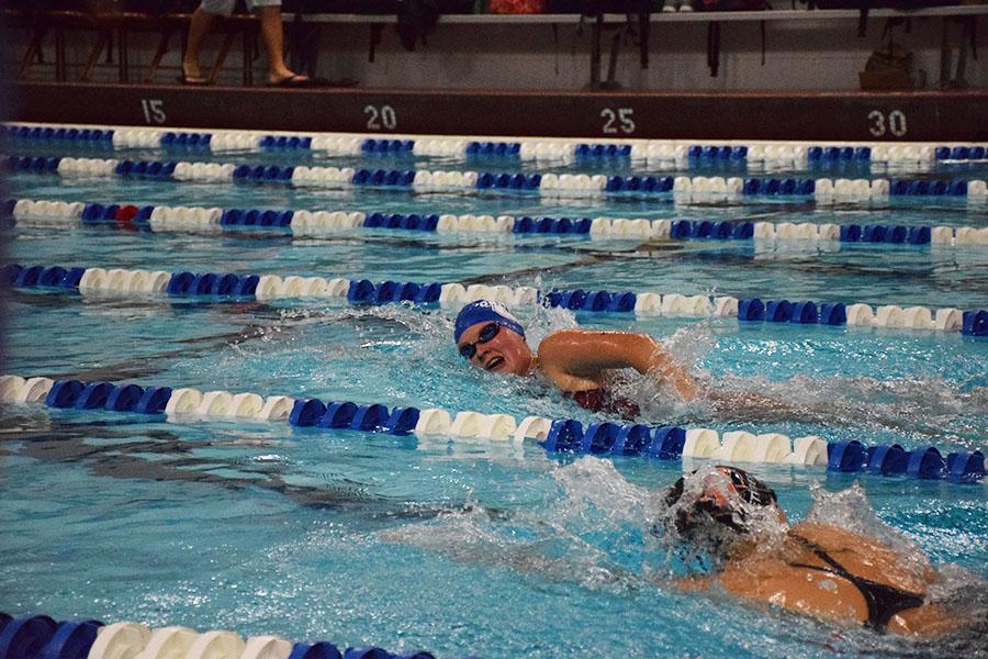 Junior Hanna Roberts broke an eighteen year old school record