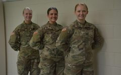 OHS senior girls serving our country
