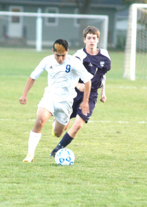 Boys Soccer VS Rochester Century