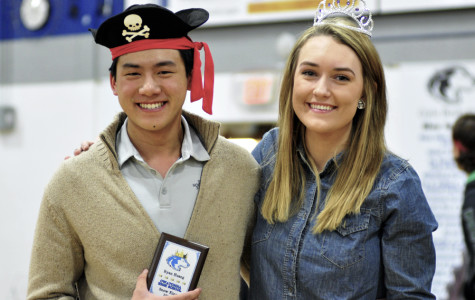 Ryan Huang and Quinn Reinhard were crowned Snow King and Queen