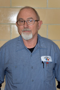 Head custodian Mike Endicott