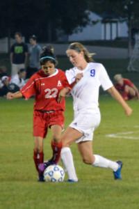 Senior Katlin Ptacek will play Division II Soccer at the University of South Dakota