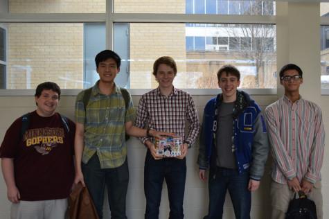 Joshua Dub, Ryan Huang, David Chatelaine, Eric Schlicker, and Haaken Bungum
