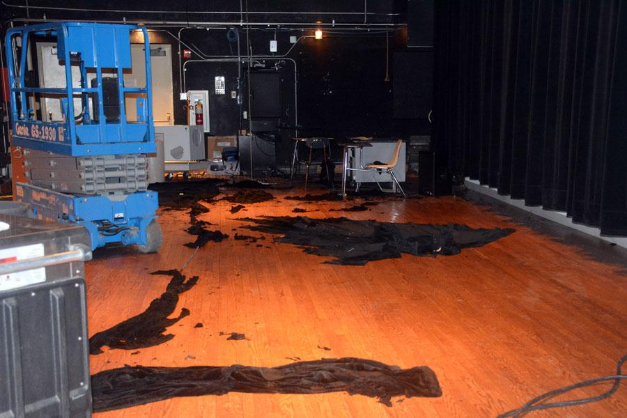 Damage to the stage