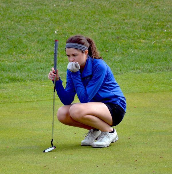 Senior Erin Abbe considers her next move