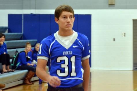 Senior Justin Tachney