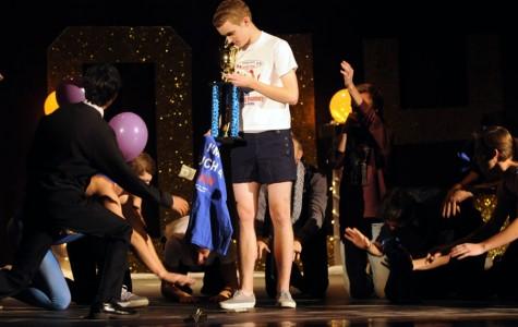 Last year's winner and this years host Matt Reinhard at the 2014 Man-geant