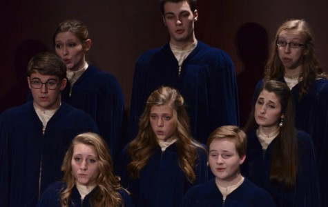 Concert Choir sings with emotion