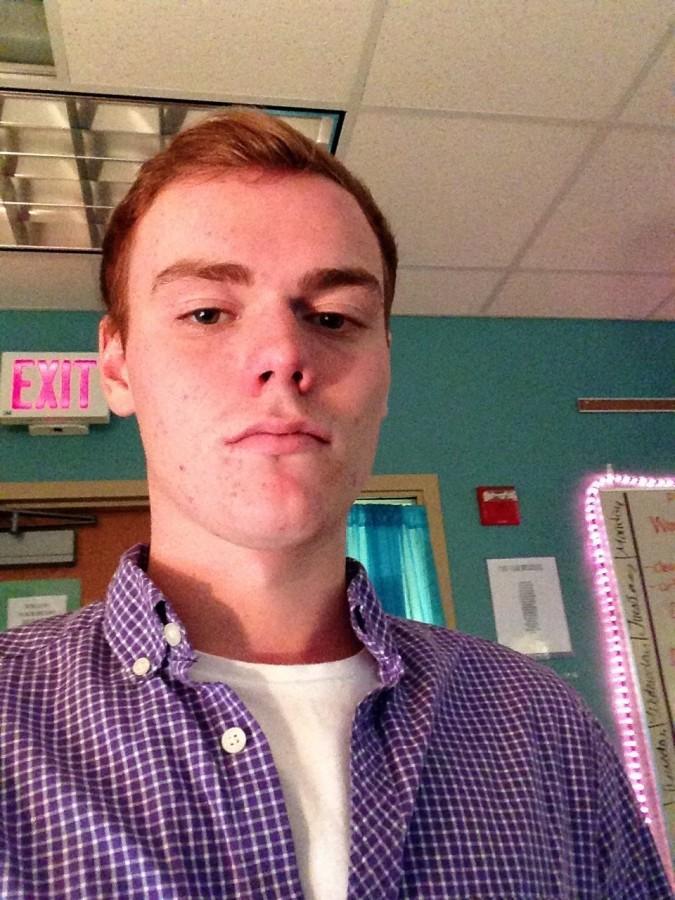 Senior Tim Flynn's amazing selfie