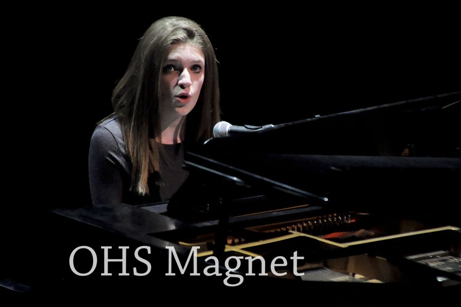 2015- Freshman Jazz Palmer plays her original song, earning her first place and the admiration of both the judges and audience