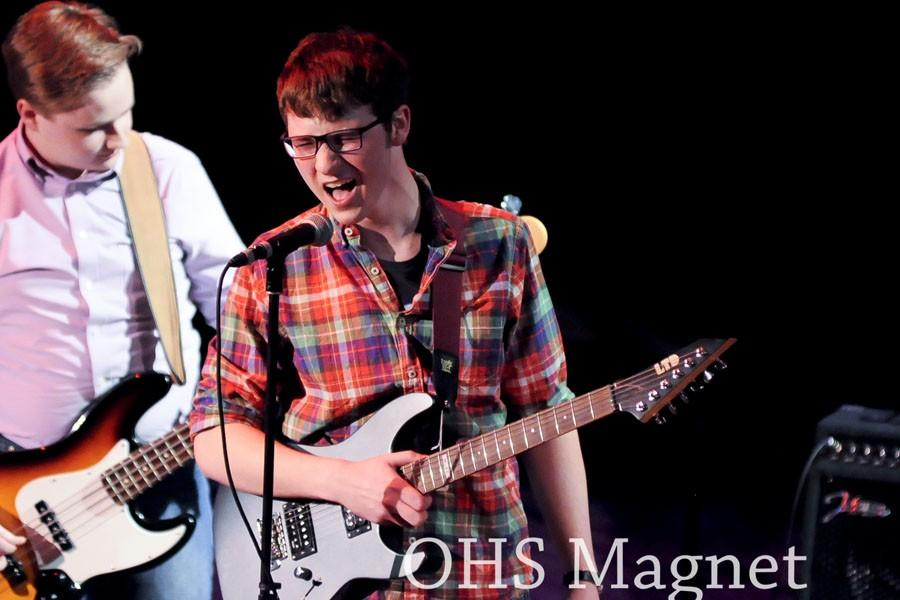 Jacob Hellevick lends his vocals to The Reluctant Scholars, as well as his impressive guitar skills