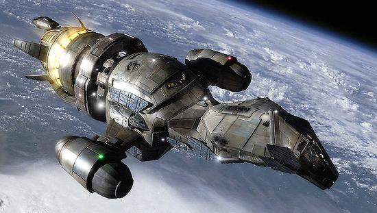 Serenity, a firefly class ship, named for its resemblance of the insect