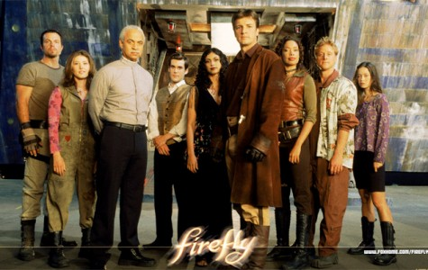 The crew of serenity, and main cast