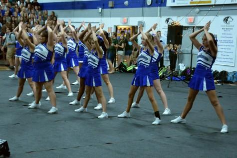 Owatonna cheer team