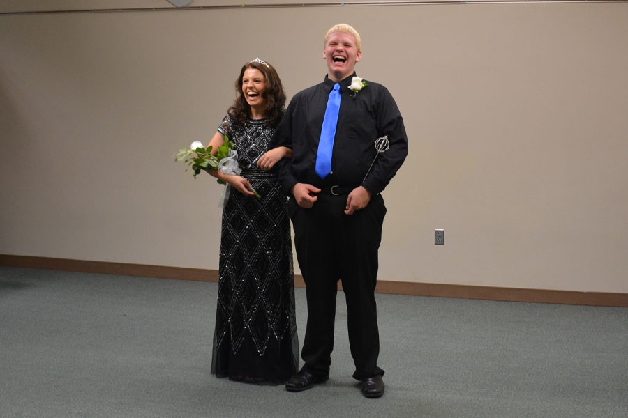 Top 5 candidates Maria Golberg and Lucas Arndt enjoy Coronation