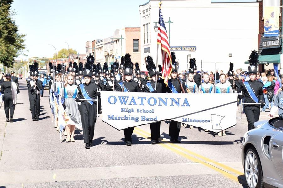 Owatonna marching band
