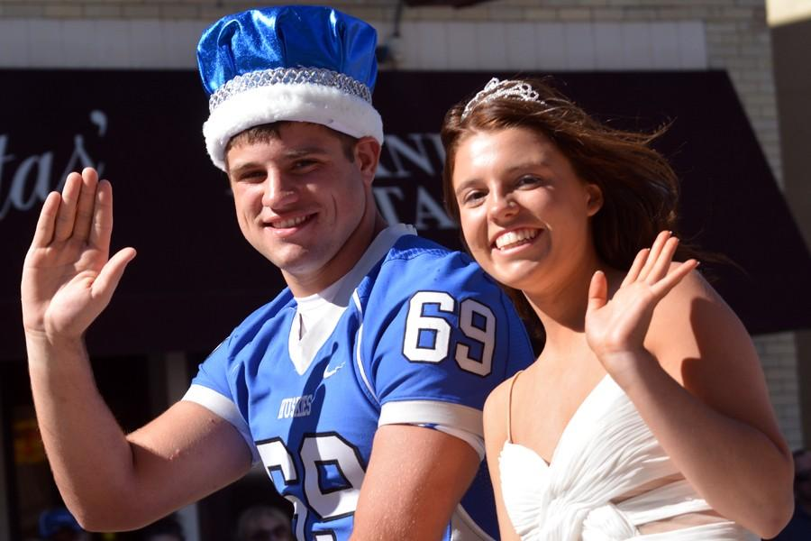 King Austin Abbas and Queen Maria Golberg