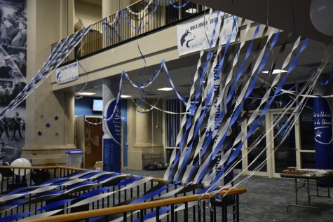 After the commons were decorated