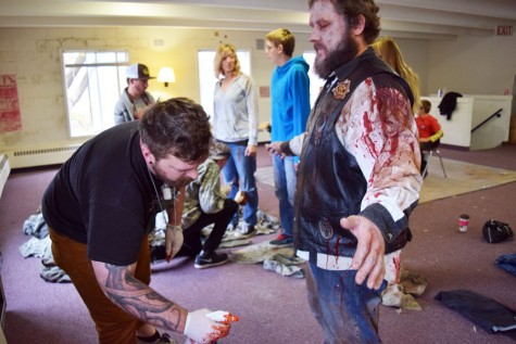 Zombie movie in Owatonna