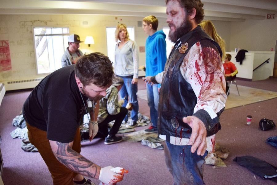 Zombie movie in Owatonna