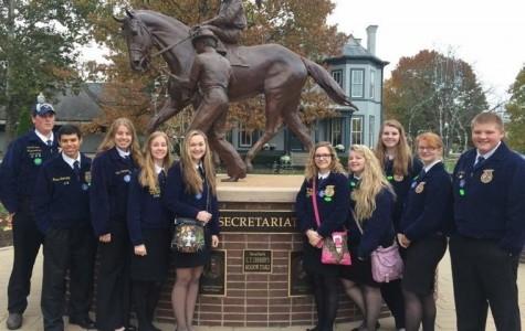 OHS FFA members at the Kentucky Horse Park