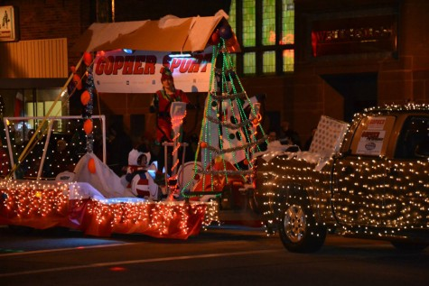 The parade starts at 6 p.m.  and heads down main street and continues around Central Park