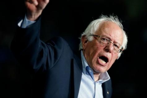 Democratic candidate Bernie Sanders