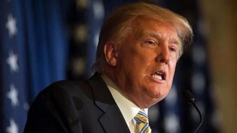 Republican frontrunner Donald Trump