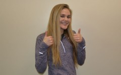 Senior Gabi Zeman gives Facebook roomates groups a thumbs up