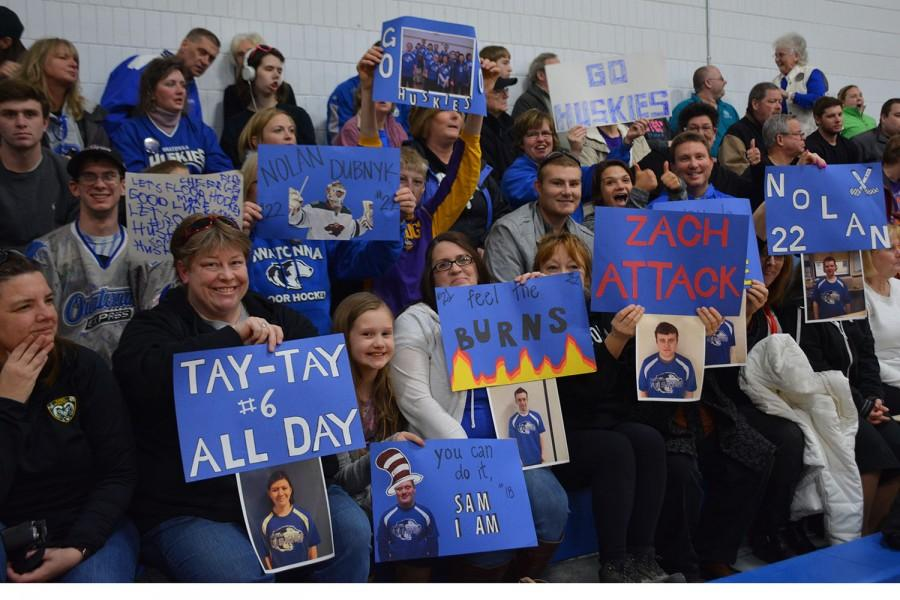 Fans at the State Play-in game last Thursday