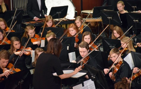 Owatonna High School Symphony Orchestra performing on March 21st