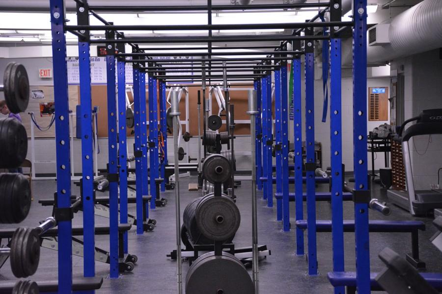 Inside+the+OHS+weight+room