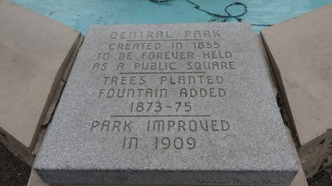 Fountain Plaque
