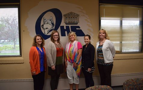 counselors Ms. Roxi Stewart,  Ms. Brynn McConnell, Ms, Ms. Margo McKay, Ms. Tammy Langlois, and Ms. Vicki Berdan