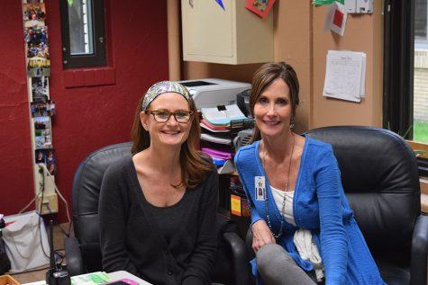 nurses Ms. Amy Jo Havelka and Ms. Anna Durst