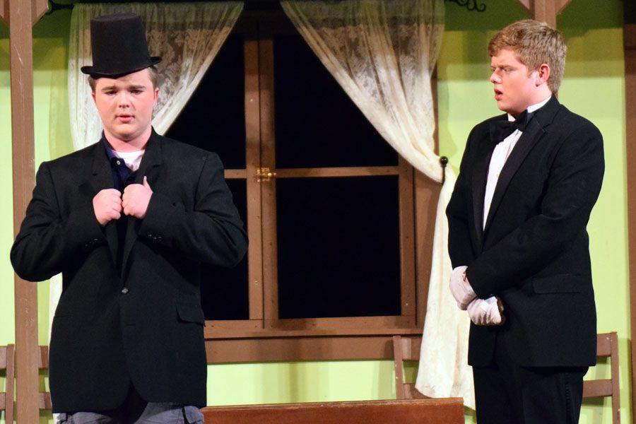 Marvin (Sheldon Jensen) playing Wimple Von Hamerstem