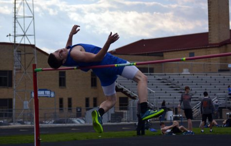 Boys track and field battles tough competition
