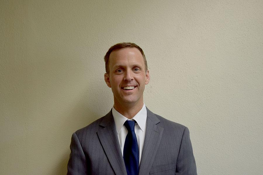 Principal Mark Randall handles curriculum and management at OHS