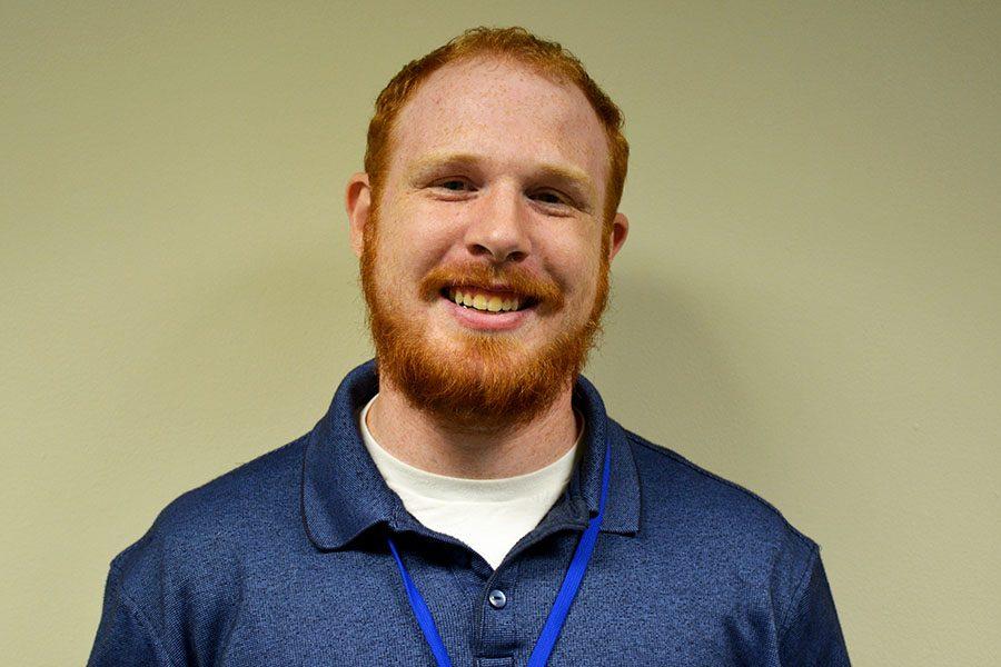 New teacher at OHS and wrestling coach Adam Woitalla