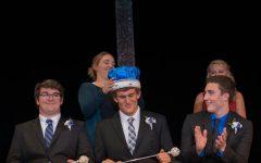 King Ethan DeKam getting Crowned by Katie Segler
